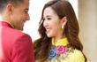 Ngọc Loan The Face tình tứ với Nam vương Đại sứ Hoàn cầu