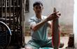 Câu được cá trê bạch tạng gần 2 kg ở Ninh Thuận