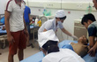 Nổ mìn giờ tan ca, 14 công nhân bị thương nặng