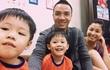 Bạn trai mới quấn quýt hai con riêng của MC Hoàng Linh
