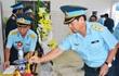 Chùm ảnh: Lễ viếng học viên phi công hy sinh do máy bay rơi ở Phú Yên