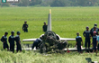 [ẢNH] Hiện trường máy bay L-39 của Không quân Việt Nam gặp nạn