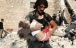 Một trẻ sơ sinh thiệt mạng trong vụ không kích bệnh viện ở Syria