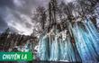 Chùm ảnh: Vẻ đẹp mê hoặc của những thác nước đóng băng trắng xóa ở cộng hòa Croatia