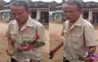 Hình ảnh đẹp nhất ngày 20/10: Cụ ông đạp xe cà tàng mua hoa tặng vợ
