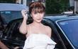 Nữ hoàng Sắc đẹp Toàn cầu Ngọc Duyên đi siêu xe 70 tỷ dự sự kiện