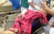 Nam thanh niên bị máy làm gạch nghiền nát chân được cứu sống