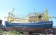 Tàu vỏ thép của ngư dân Quảng Nam vừa xuống nước đã hỏng máy
