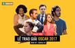 [Tường thuật trực tiếp] Lễ trao giải Oscar 2017: La La Land liệu có làm nên lịch sử?