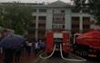 Cháy tầng 5 bệnh viện Đa khoa tỉnh Tuyên Quang