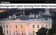 Mật vụ Mỹ lý giải ánh sáng đỏ nhấp nháy ở Nhà Trắng làm dư luận xôn xao