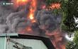 Cháy lớn tại khu nhà xưởng ở Sài Gòn