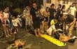 2 thanh niên say rượu đâm vào cô gái đang mang bầu