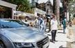 Hoa hậu Thu Hoài nộp phạt 1,6 triệu vì xe lấn chiếm vỉa hè