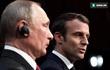 Ngay trước mặt Putin, Tổng thống Macron thẳng thừng chỉ trích Nga can thiệp bầu cử Pháp