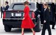 Cư dân mạng tò mò về nữ mật vụ có ngoại hình giống Đệ nhất phu nhân Melania Trump