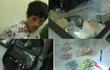 Cảnh sát 113 tóm gọn kẻ mang lựu đạn vận chuyển ma túy