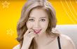 Vũ Ngọc Châm lộ vòng 1 trong clip quảng cáo