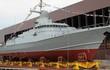 Nga hạ thủy tàu tên lửa cỡ nhỏ Typhoon