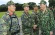 Chủ tịch nước Trần Đại Quang thăm và làm việc với Bộ Quốc phòng