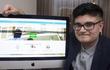 Nam sinh 16 tuổi từ chối bán website giá 5 triệu bảng