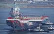 Trung Quốc không dùng quốc tửu trong lễ hạ thủy tàu sân bay