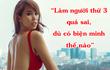 Siêu mẫu Hà Anh: 'Làm người thứ 3 sai quá, dù có biện minh như thế nào'