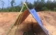 Căng lều bảo vệ vị trí nghi lăng mộ vợ vua triều Nguyễn bị san phẳng làm bãi đậu xe
