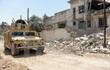 An ninh Iraq vây hãm hàng trăm chiến binh IS trong thành cổ Mosul