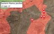 Chiến sự Syria: Quân Assad tấn công siết chặt vòng vây IS trên sa mạc Hama