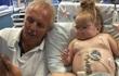 Cuộc sống mới cho bé gái 3 tuổi được ghép thận của ông nội