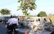 Bắt giữ 6 nghi can vụ đốt xe ô tô trên QL 61C