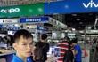 Điện thoại thông minh Trung Quốc ráo riết chạy đua vào thị trường các nước giàu