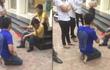 Hà Nội: Tên trộm xe máy bị chuột rút sau thời gian dài phải quỳ gối xin lỗi, người dân giúp xoa bóp chân rồi cho đi