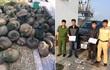 Vận chuyển 112 con tê tê, tông gãy barie khi thấy CSGT
