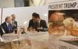 Hamburger đãi Tổng thống Trump cháy hàng ở Nhật