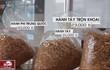 Rợn người công nghệ sản xuất hành phi bẩn từ khoai tây mọc mầm, hành tây thối
