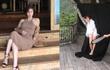 """""""Mẹ Kim Tan"""" Kim Sung Ryung check-in tại Nha Trang, khoe dáng nuột nà khó tin ở tuổi 50"""