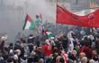Biểu tình bạo lực kinh hoàng trước cổng Đại sứ quán Mỹ tại Lebanon