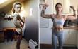 """Cô gái khỏe khoắn này từng là một """"bộ xương di động"""" chỉ nặng 32kg"""