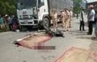 Va chạm với xe tải, 2 nam thanh niên tử vong tại chỗ
