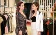 Hoa hậu Phan Hoàng Thu đọ dáng cùng siêu mẫu Thúy Hằng