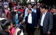 Thủ tướng tặng quà Tết cho bà con nghèo bị thiên tai tỉnh Phú Yên