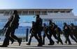 """Lá chắn an ninh """"con kiến khó lọt"""" chào đón Triều Tiên đến Hàn Quốc"""