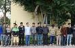 Cảnh sát mật phục phá sới gà, bắt giữ 30 con bạc đang say sưa sát phạt