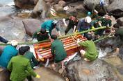 Sập cầu treo kinh hoàng tại Lai Châu