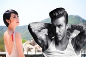 Scandal siêu mẫu Xuân Lan có con với Beckham