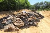Rác thải Formosa đổ ở Hà Tĩnh