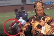 Samson vào bóng thô bạo với cầu thủ HAGL