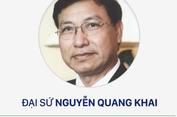 Các bài viết của Đại sứ Nguyễn Quang Khai